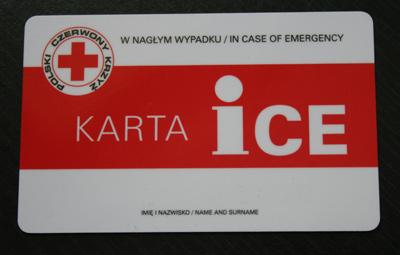 Karta Ice W Naglym Wypadku Aktualnosci Kpp Busko Zdroj